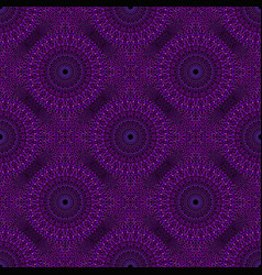 Oriental seamless stone mandala mosaic pattern vector