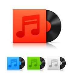 Vinyl records vector