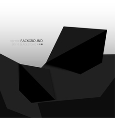 Background with black stones vector image