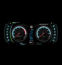 Car dash board eps 10 007 vector