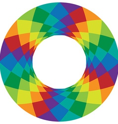 Rainbow design element vector
