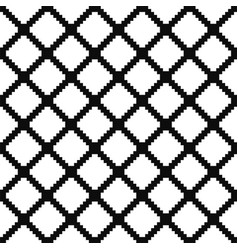 seamless geometric pattern - simple grid vector image