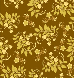 flora-pattern-vintage-2 vector image