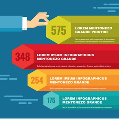 Infographic business concept vector