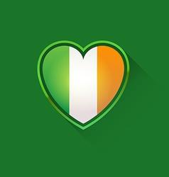 Love to Ireland vector image vector image