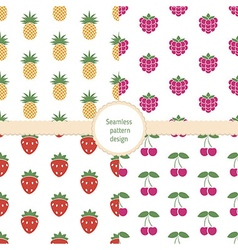 Seamless colorful pattern vector image vector image