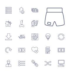 22 app icons vector