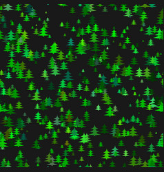 Abstract stylized chaotic pine tree background vector