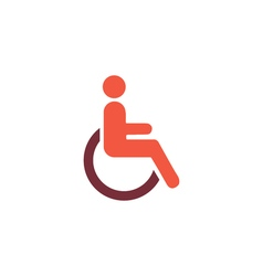 Cripple Icon vector image