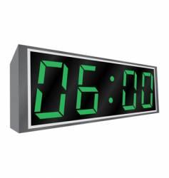 electronic alarm clock vector image vector image