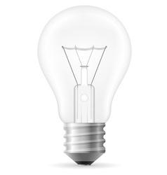 light bulb 01 vector image