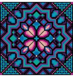 Mosaic ornamental background vector