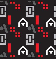 neighborhood playground seamless pattern vector image