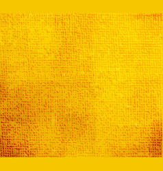 Spotted yellow canvas background vector