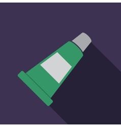 Tube of cream icon vector image