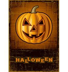 Halloween Jack OLantern vector image