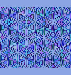seamless geometric abstract unusual pattern vector image vector image