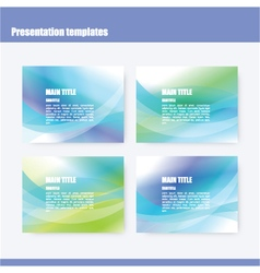 222 5 2016 presentation template vector image