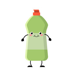 cute cartoon detergent character vector image
