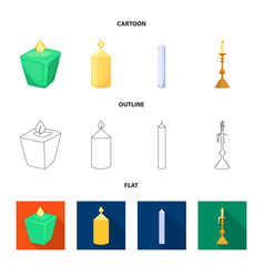 Design relaxation and flame logo vector