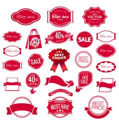 digital red modern sale vector image