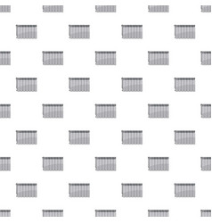 heating battery pattern vector image