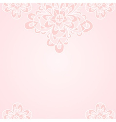 Light pink ethnic floral background vector