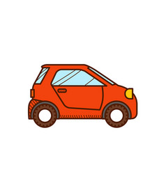 Micro car vector