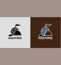 Nomad head vector