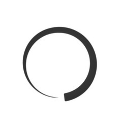 preloader buffer shape symbol fading circle min vector image