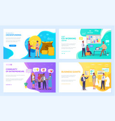 Strategic planning and business management concept vector