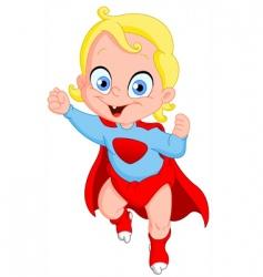 superbaby vector image