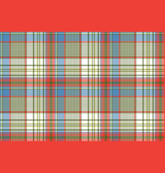 plaid fabric texture square pixels shirt seamless vector image vector image