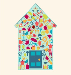 home-related-icons-2 vector image vector image