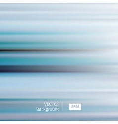 Abstract Blue Striped and Blurred Background vector image