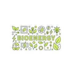 bio energy vector image