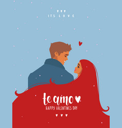 couple its love vector image