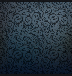 dark charcoal gothic style vector image