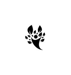 Healthy life people logo icon vector