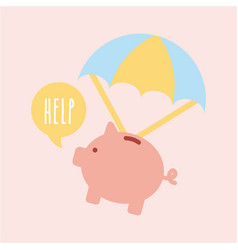 Help donations children vector