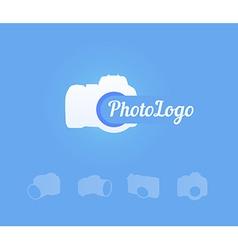 Photocamera Logotype vector image