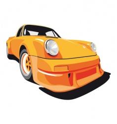 Porsche 911 vector image vector image