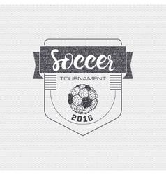 Football Soccer tournament championship league vector image
