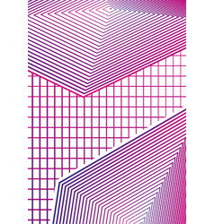 simple geometric minimal covers design 02 modern vector image vector image