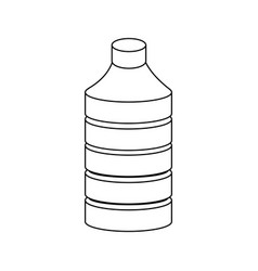 water bottle icon vector image vector image