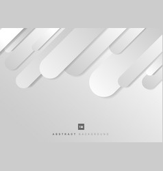 abstract geometric rounded line gray diagonal vector image