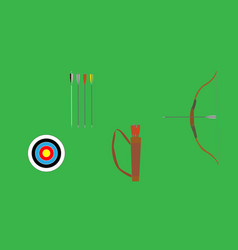 archery set vector image