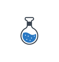 Chemistry related glyph icon vector