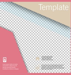 Poster flyer pamphlet brochure cover design vector