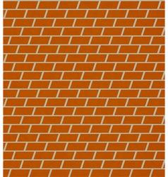 seamless brick pattern wall vector image